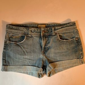 Candies Distressed Shorts